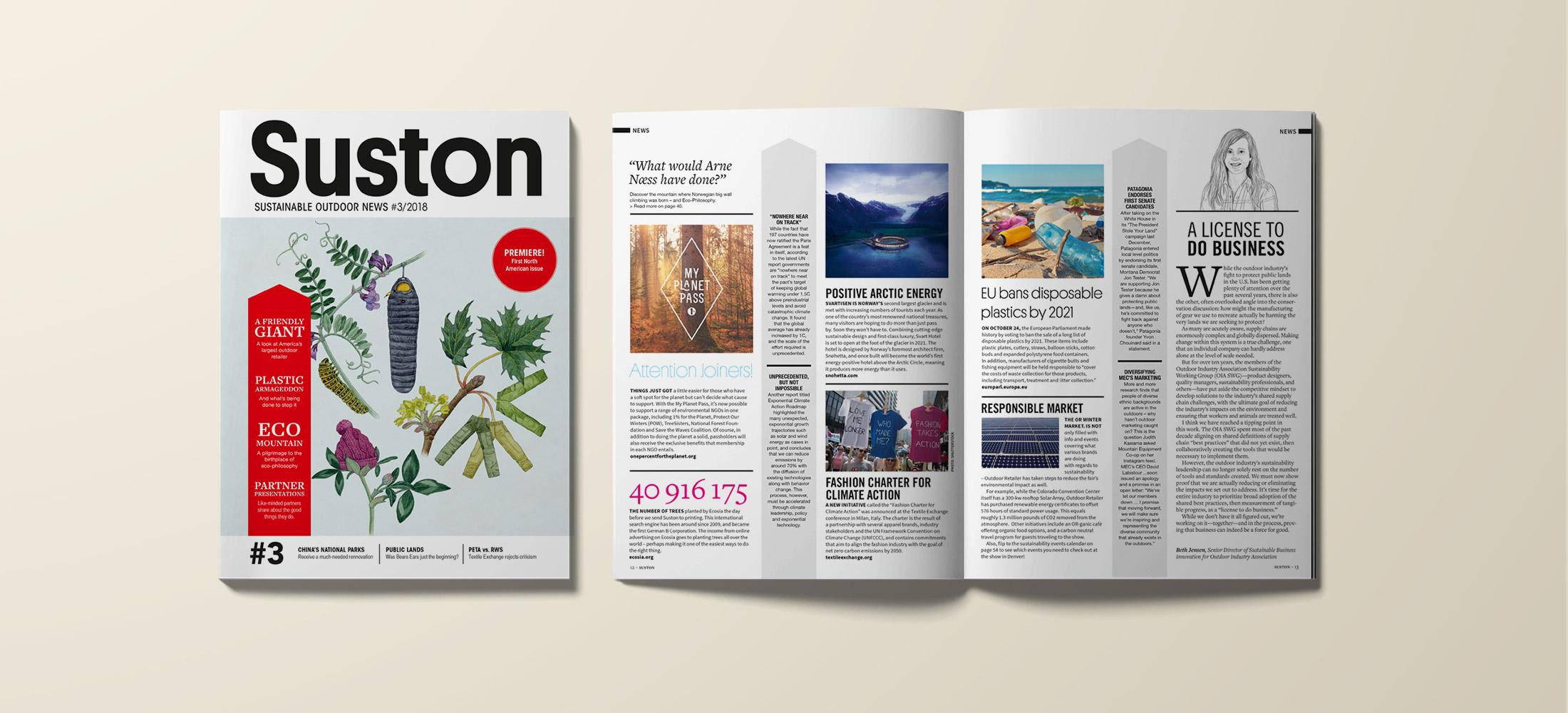 Suston sustainable outdoor news