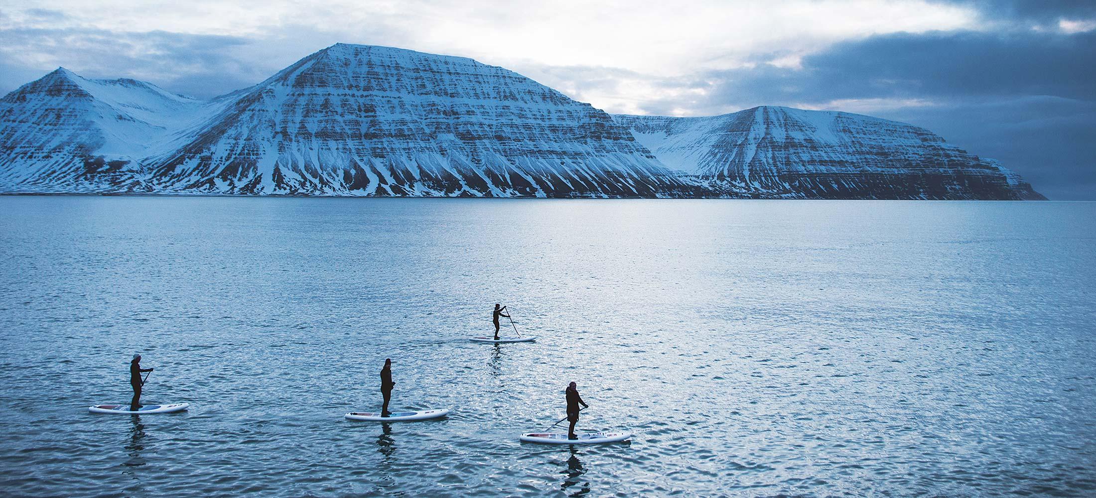 NORR Agency på SUP i Island